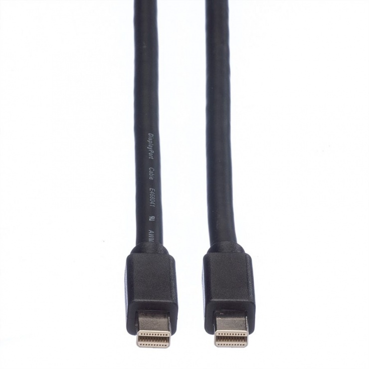 Imagine Cablu Mini Displayport la Mini Displayport T-T 2m Negru, Roline 11.04.5640-2