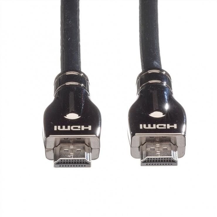 Imagine Cablu HDMI Ultra HD cu Ethernet T-T 20m, Roline 11.04.5687-2