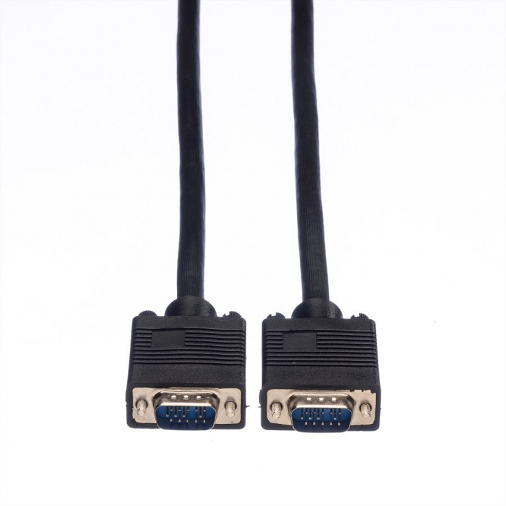 Imagine Cablu SVGA 14 pini ecranat T-T 20m, Value 11.99.5259-1