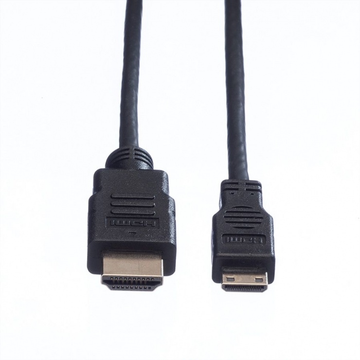 Imagine Cablu HDMI la mini HDMI-C T-T v1.4 2m, Value 11.99.5580-1