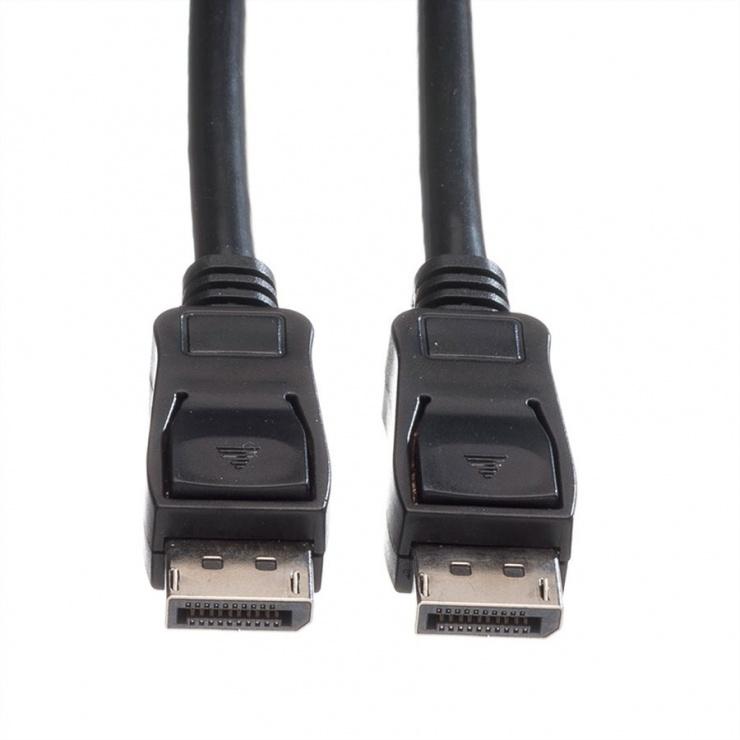 Imagine Cablu DisplayPort v1.2 4K T-T ecranat 3m Negru, Value 11.99.5603-1