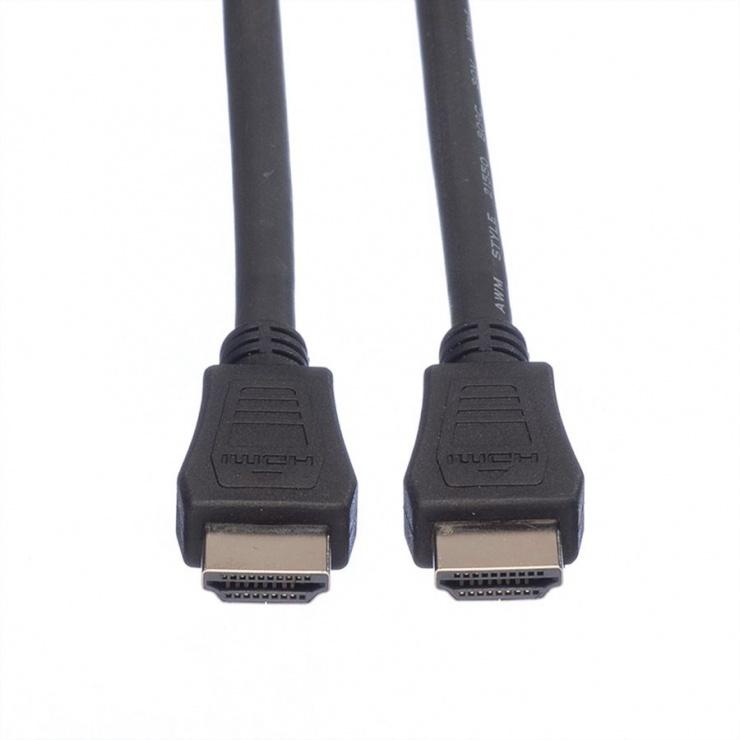 Imagine Cablu HDMI cu Ethernet v1.4 T-T 5m Negru LSOH, Value 11.99.5735-1
