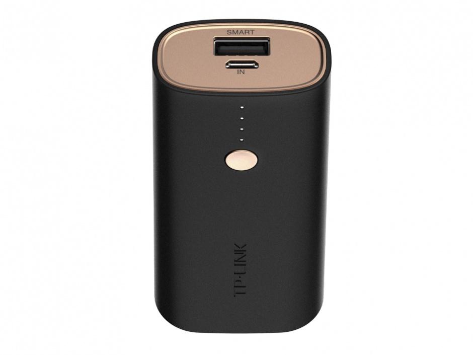 Imagine Baterie Externa Vivid Ultra-compact 6700 mAh, TP-Link TL-PBG6700