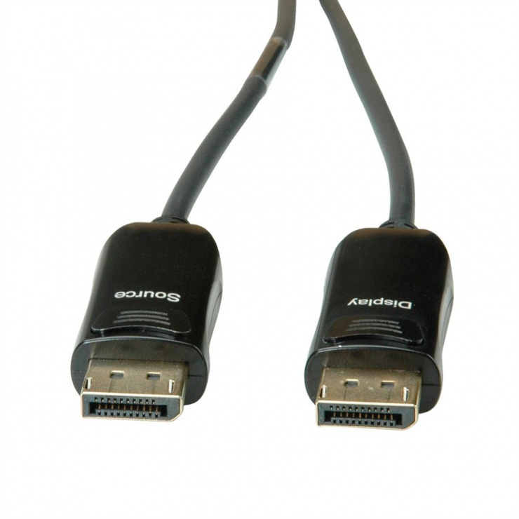 Imagine Cablu Displayport v1.2 UHD activ (AOC) T-T 50m, Roline 14.01.3492-1