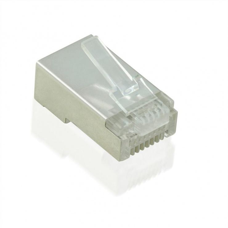 Imagine Mufe RJ45 cat 5e ecranate set 10 buc, Value 21.99.3061