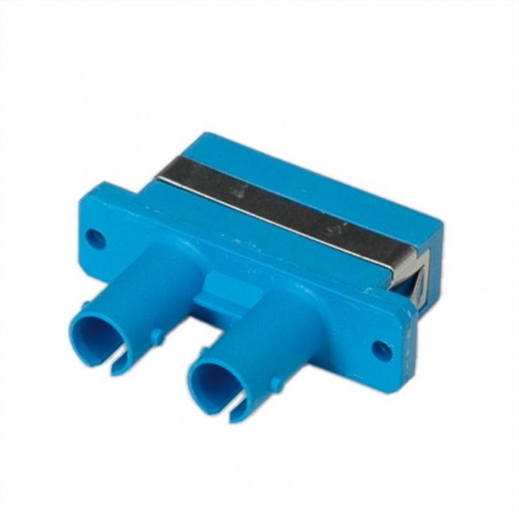Imagine Adaptor fibra optica ST/SC Duplex Single-Mode Z, Roline 21.17.0121