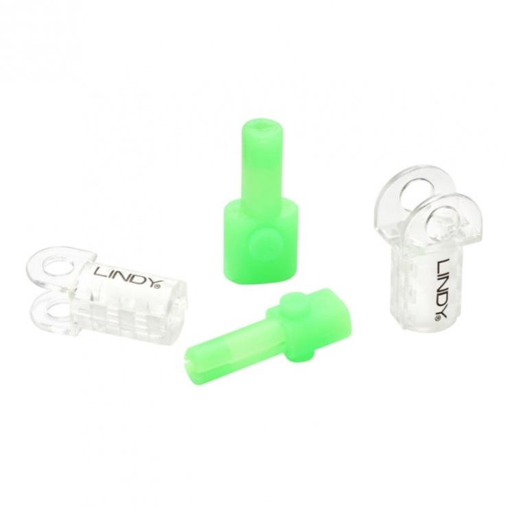 Imagine Kit de protectie pentru cablul Lightning Verde, Lindy L31388