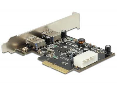 Imagine PCI Express cu 2 x USB 3.1 Gen 2, Delock 89398