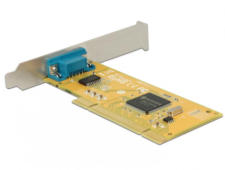 Imagine PCI cu 1 x Serial RS-232, Delock 89592-1