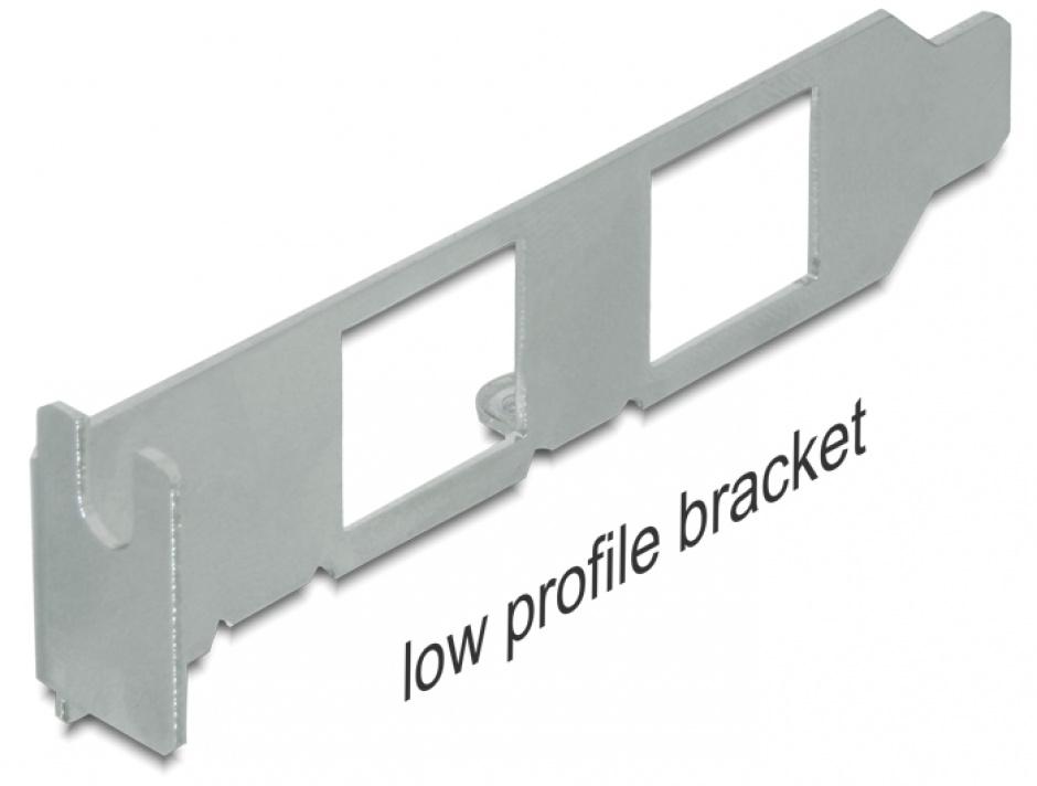 Imagine Rear bracket USB la 2 x PS/2, Delock 61589-2