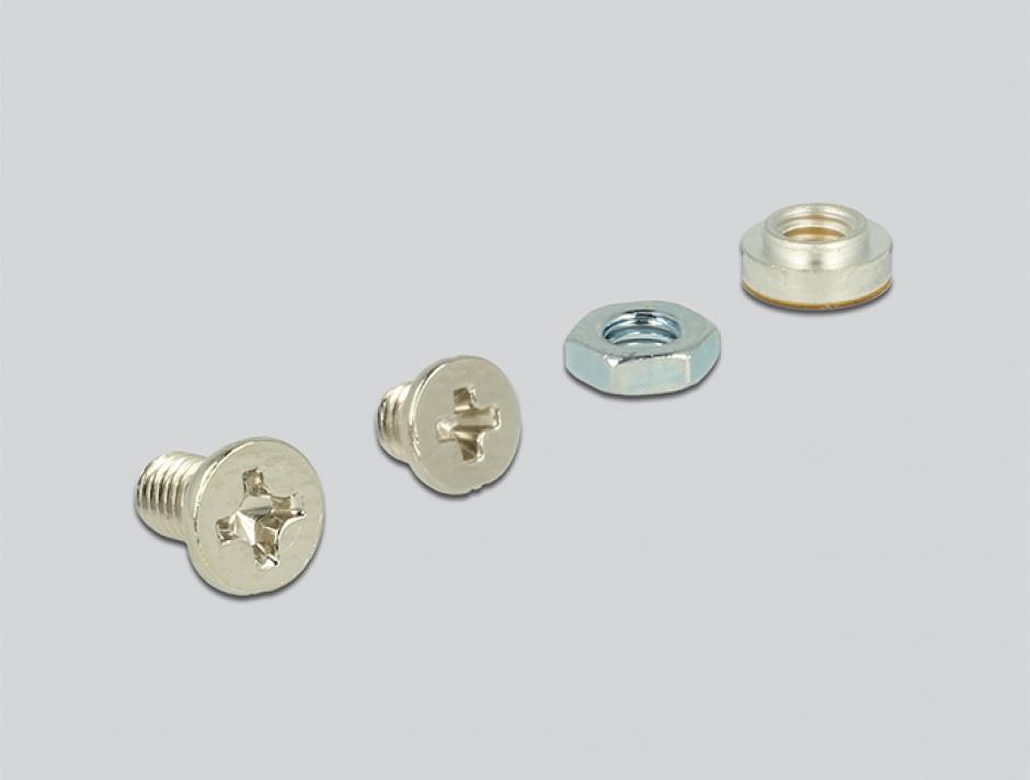 Imagine Convertor U.2 SFF-8639 / SFF-8643 NVMe la 1 x M.2 Key M, Delock 62945-4