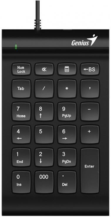 Imagine Tastatura numerica USB I130, Genius