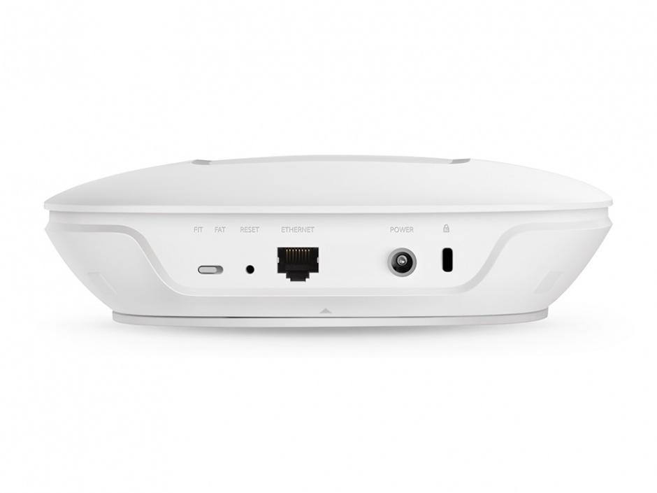 Imagine Access Point Wireless Dual Band Gigabit montare tavan, TP-LINK AC1750