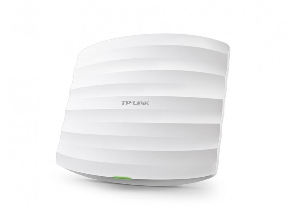 Imagine Access Point wireless AC1200 Gigabit Dual Band montare pe tavan, TP-LINK EAP320