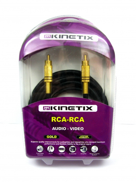 Imagine Cablu RCA la RCA T-T 3m, KTCBLHE17004