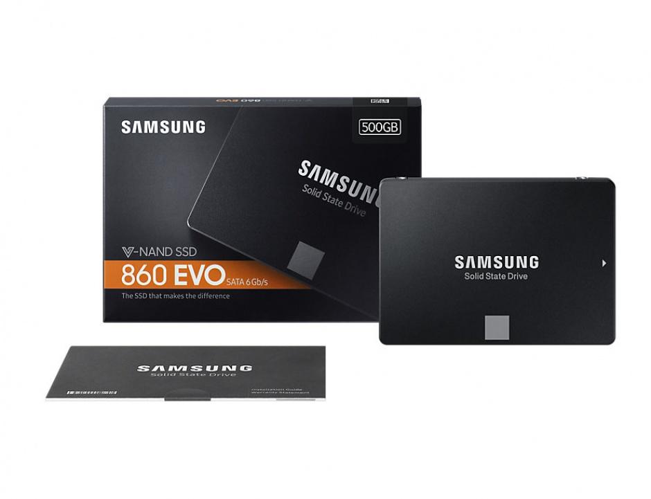 """Imagine SSD Samsung 2.5"""" SATA 860 EVO 500GB"""