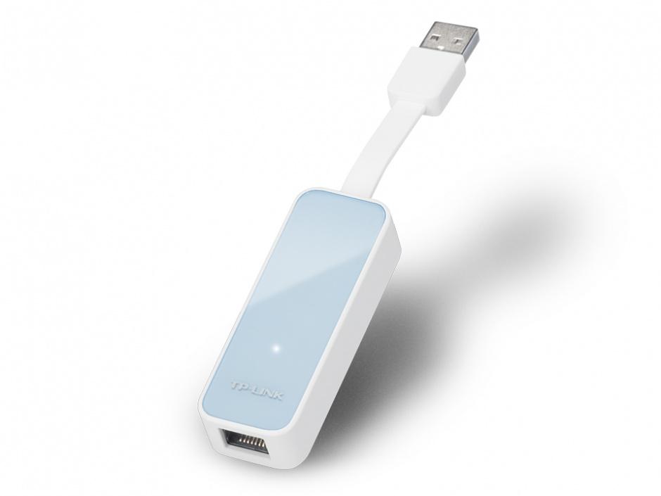 Imagine Adaptor retea USB 2.0 la retea 10/100 Mb/s, TP-LINK UE200