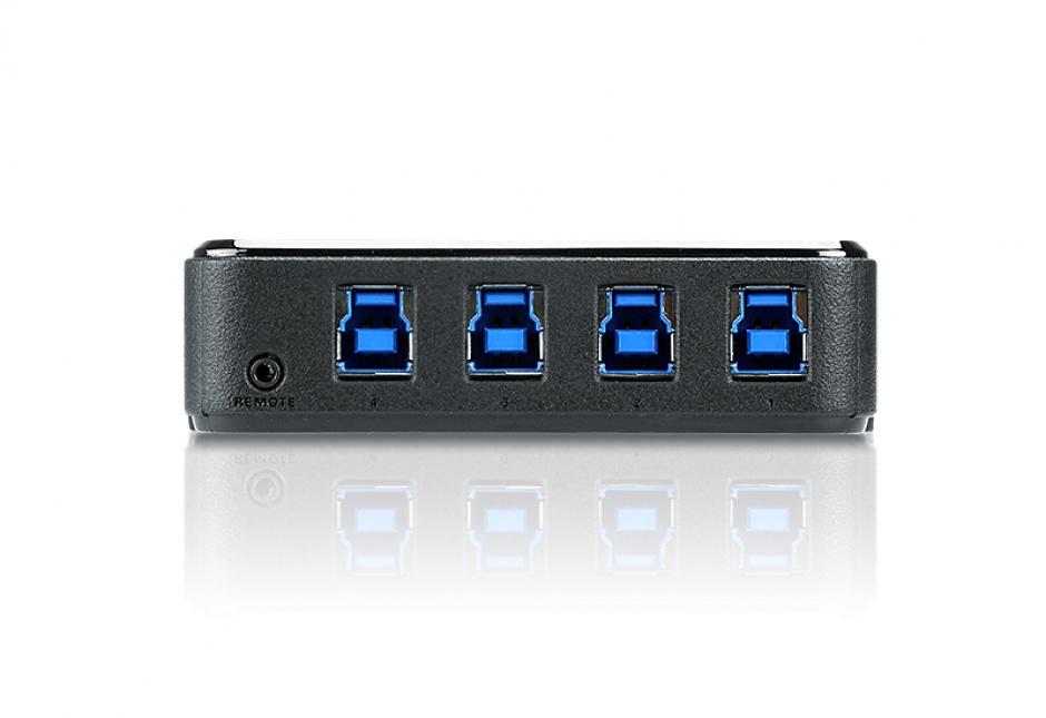 Imagine Sharing Switch USB 3.1 Gen 1 (USB 3.0) 4 PC x 4 periferice, ATEN US434