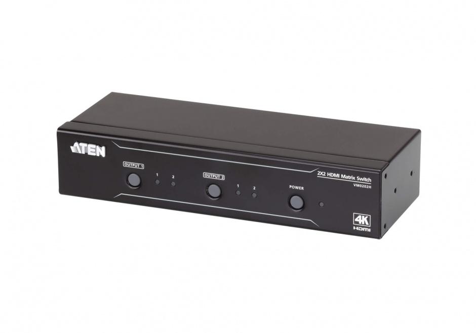 Imagine Matrix Switch 2x2 4K HDMI, ATEN VM0202H