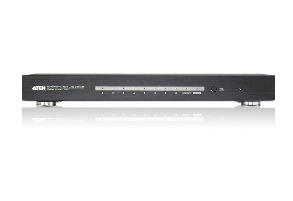 Imagine Multiplicator HDMI 8 porturi over Cat 5 pana la 100m 4K, ATEN VS1818T