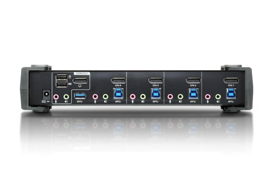Imagine Switch KVMP 4 porturi DisplayPort 4K USB 3.0, ATEN CS1924