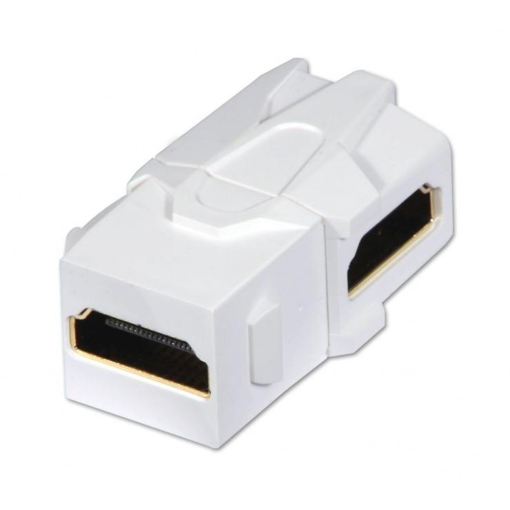 Imagine Keystone HDMI in unghi M-M, Lindy L60490