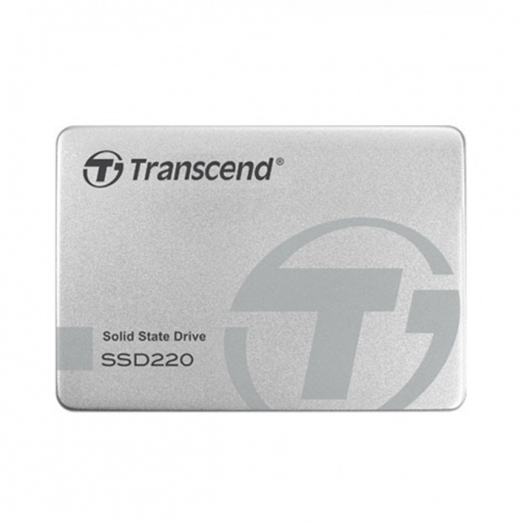 Imagine SSD TRANSCEND SSD220S 240Gb TLC NAND SATA 3 Aluminium