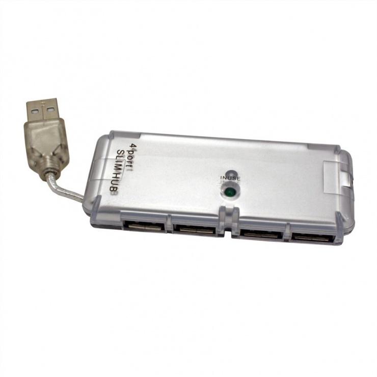 Imagine Hub USB 2.0 4 porturi, Value 14.99.5015-1