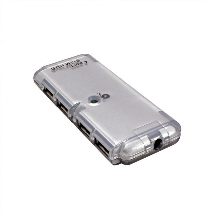 Imagine Hub USB 2.0 4 porturi, Value 14.99.5015-3