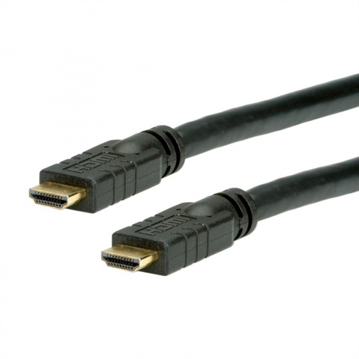 Imagine Cablu HDMI activ 4K2K@30Hz T-T 10m, Roline 14.01.3430