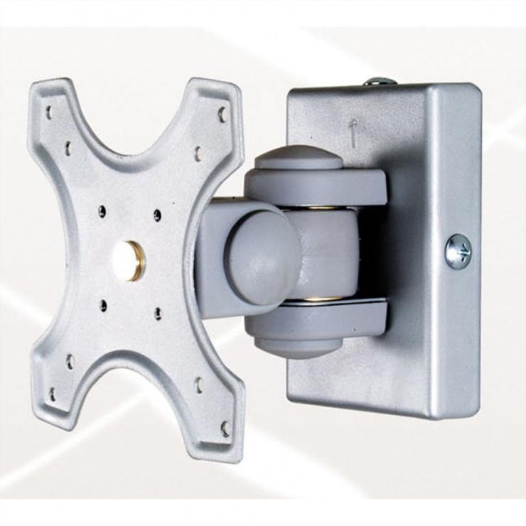 Imagine Suport perete pentru monitor 3 pivoti/2 joints gri, Value 17.99.1125