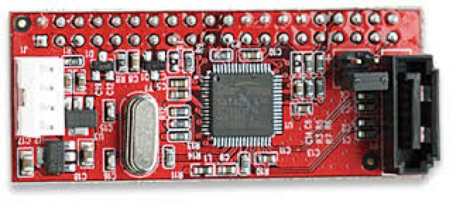 Imagine Adaptor HDD IDE 40 pini la SATA, Manhattan 170598-1