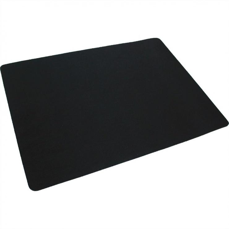 Imagine Mouse pad Gaming soft 350x260mm Negru, Roline 18.01.2044