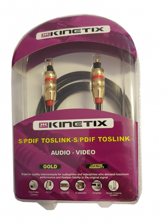 Imagine Cablu GOLD audio digital Toslink 2m, KTCBLHE13043