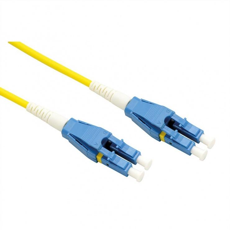Imagine Cablu Jumper Fibra optica LC-LC duplex OS2 5m, Roline 21.15.8785