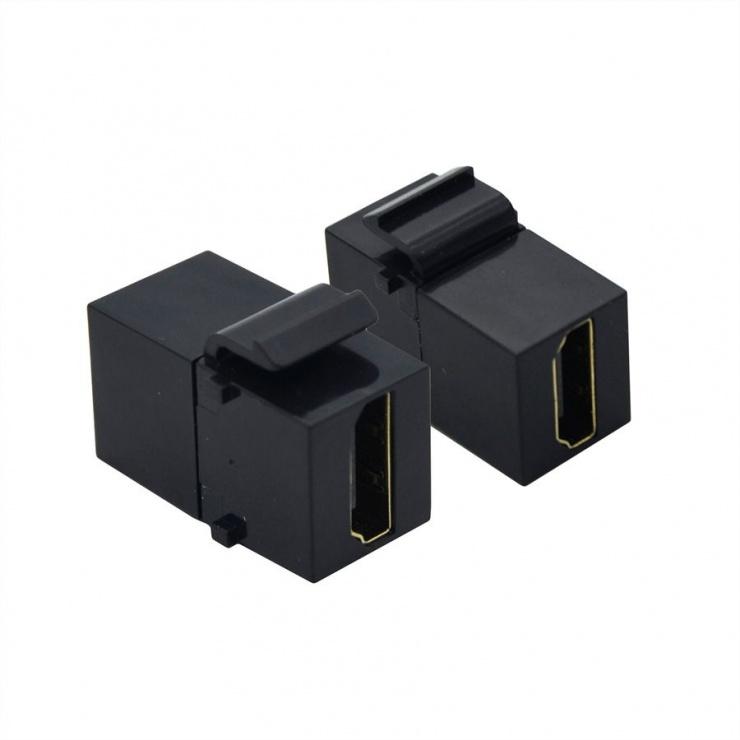 Imagine Keystone HDMI M-M negru, Value 25.99.8208