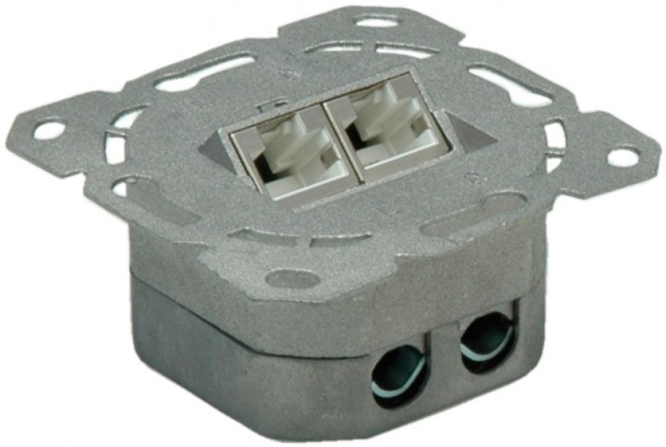 Imagine Priza RJ45 ingropata cat 6A ecranata vertical, Value 25.99.8491