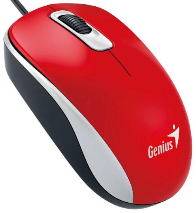 Imagine Mouse optic USB Red DX-110, Genius - 1