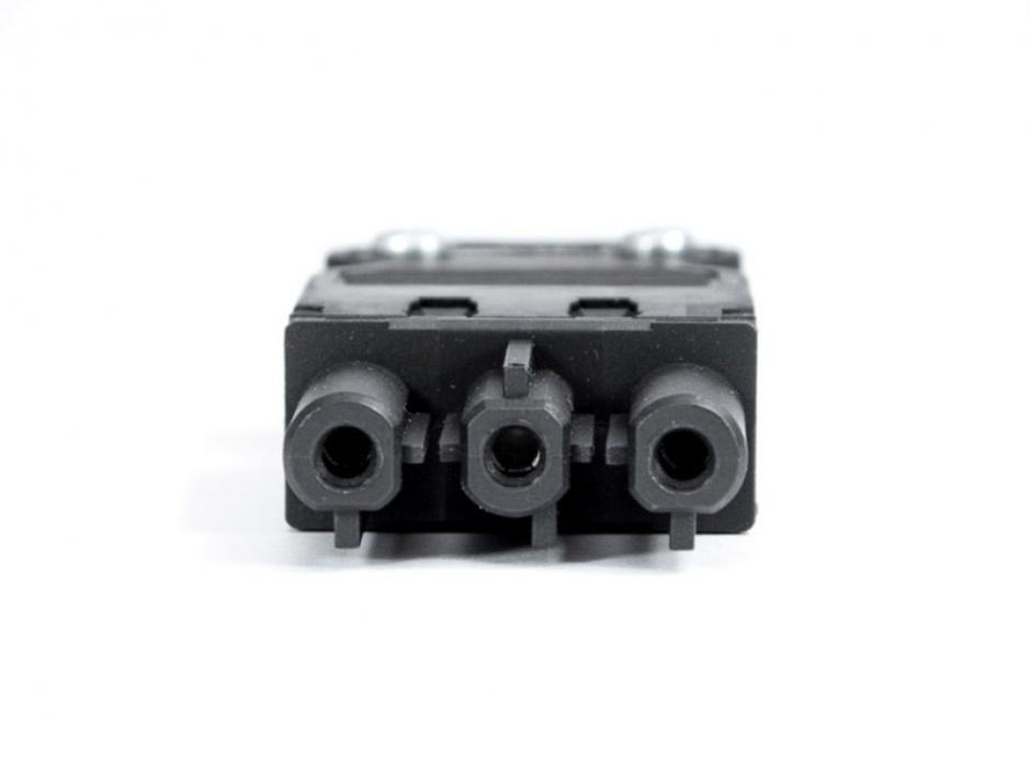 Imagine Cablu de alimentare Schuko la GST18-3 2m negru, Bachmann 375.075-4