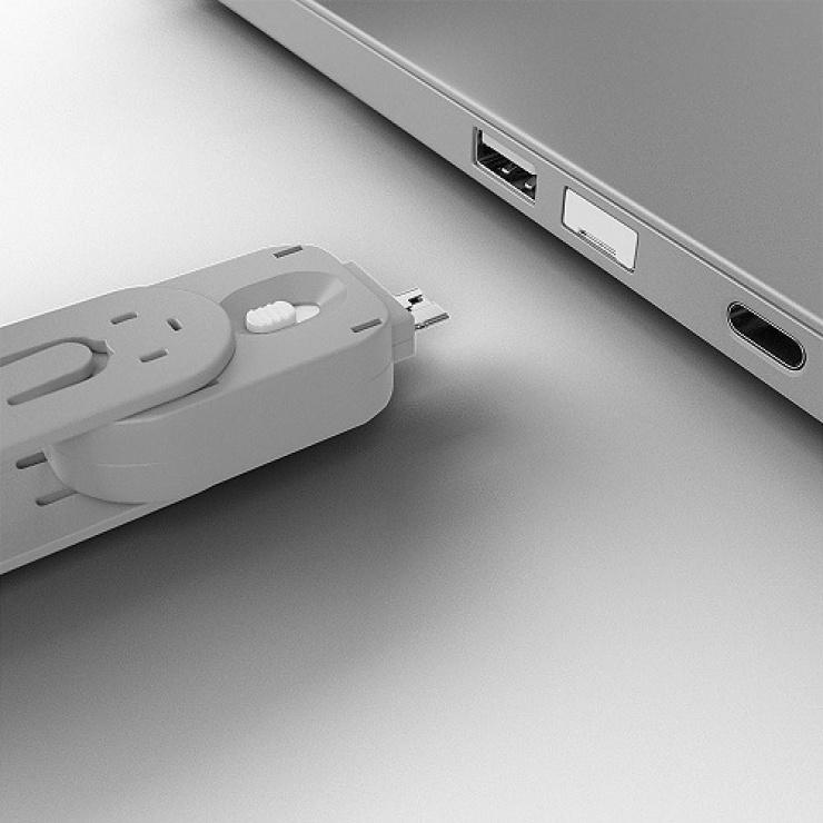 Imagine Cheie pentru blocarea portului USB-A (L40464 & L40454) Alb, Lindy L40624-3