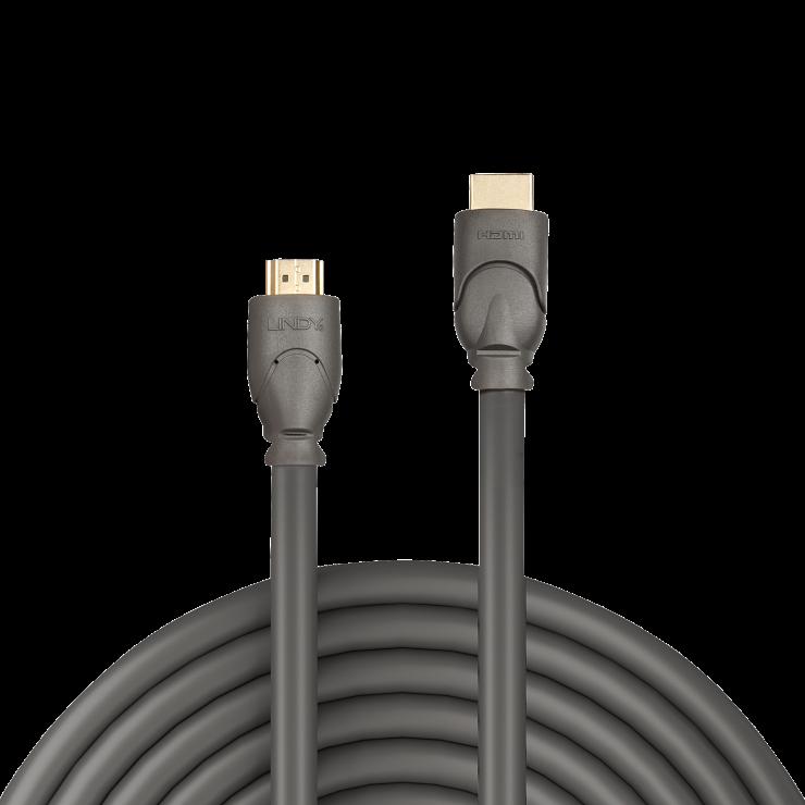 Imagine Cablu HDMI v2.0 Premium 4K T-T 20m, Lindy L41118-1