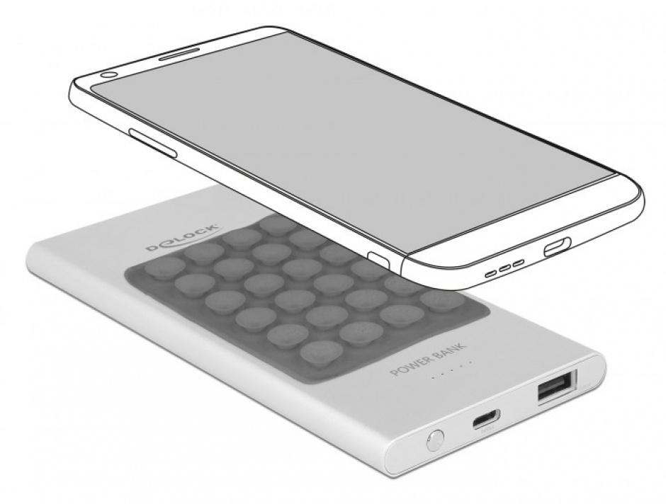 Imagine Baterie externa 5000 mAh 1 x USB-A, 1 x USB-C, Delock 41504-1