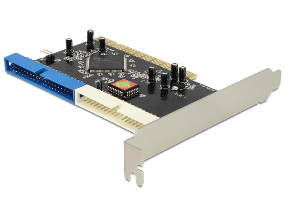 Imagine PCI la 2 x IDE 40 pini, Delock 70098