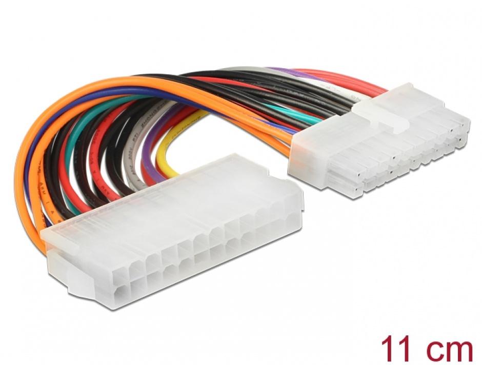 Imagine Cablu de alimentare ATX 24 pini la 20 pini M-T, Delock 65606