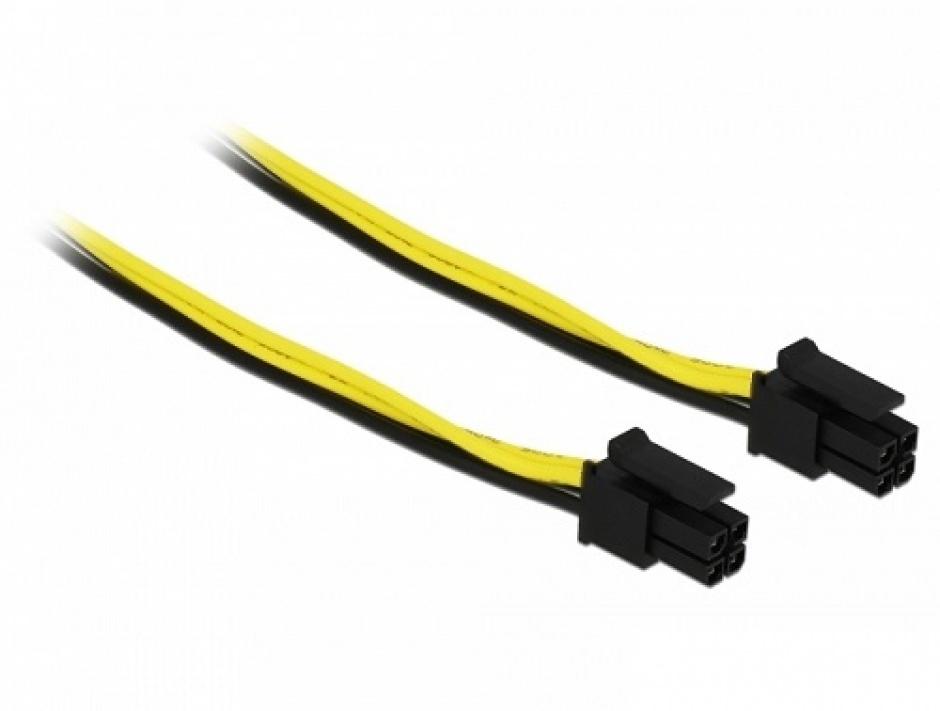 Imagine Cablu Micro Fit 3.0 4 pini Intel NUC T-T 20cm, Delock 85372