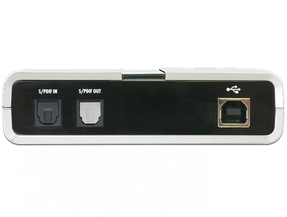 Imagine Placa de sunet USB 7.1, Delock 61803