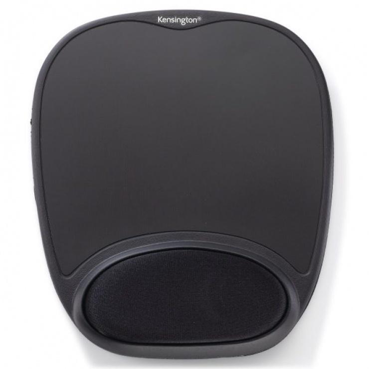 Imagine Mouse pad Comfort Gel Negru, Kensington 62386