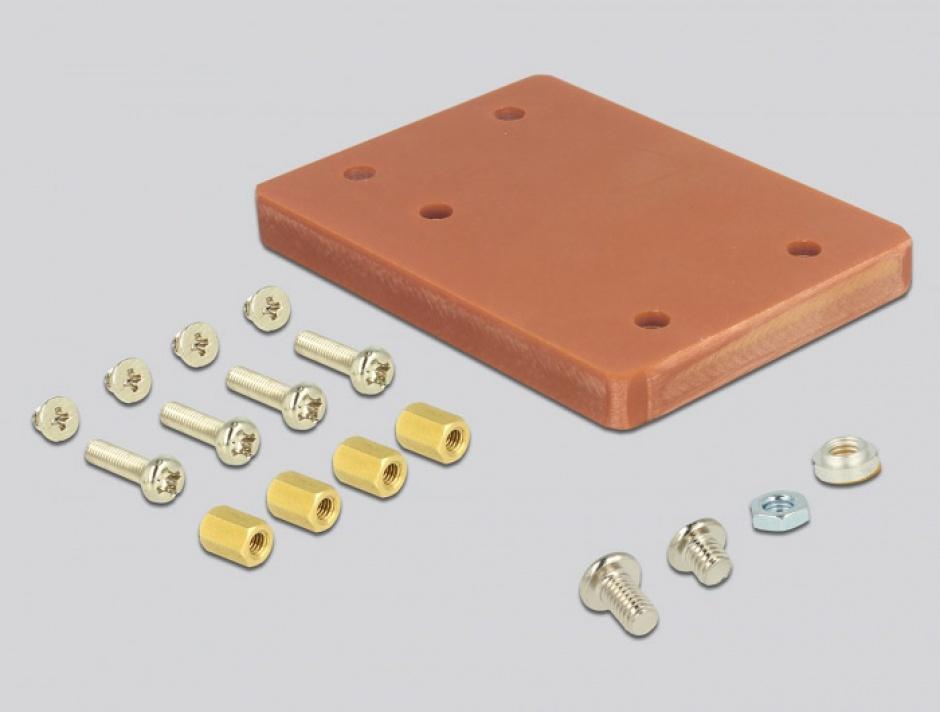 Imagine Adaptor U.2 SFF-8643 la PCIe/M.2 Key M slot, Delock 63952-4