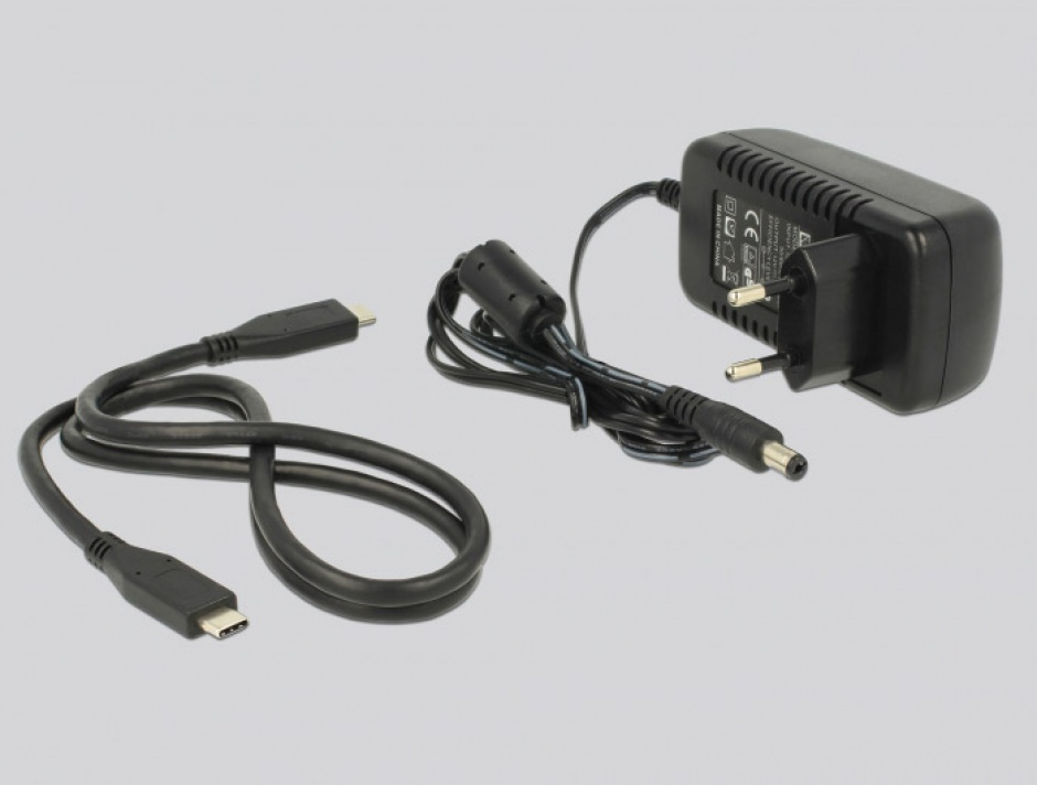 Imagine Docking Station USB 3.1-C pentru HDD/SSD SATA, Delock 63958-5