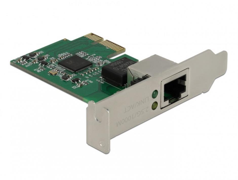 Imagine PCI Express cu un port 2.5 Gigabit LAN, Delock 89531-2